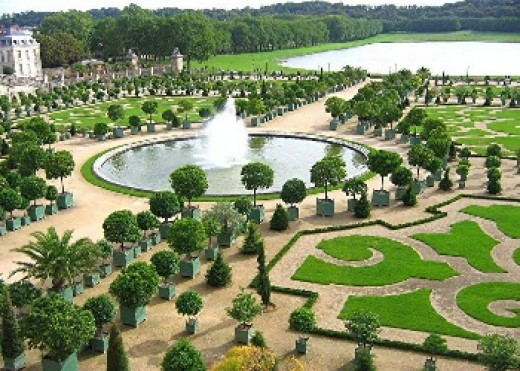 The Garden of the Palace at Versailles