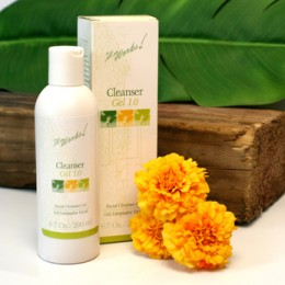 Clean Rinsing Cleanser Gel.  Sweeps away dirt, oil, and makeup gently without stripping natural moisture.