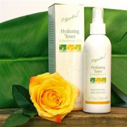 Hydrating Toner - Restore skin to natural pH.  Soothes, protects, nourishes, & refreshes all day long with no alcohol.