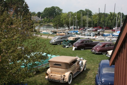 Motor City Packard Show at Crescent Sail YC