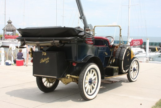 1908 Packard Touring Car. Star of the Show.