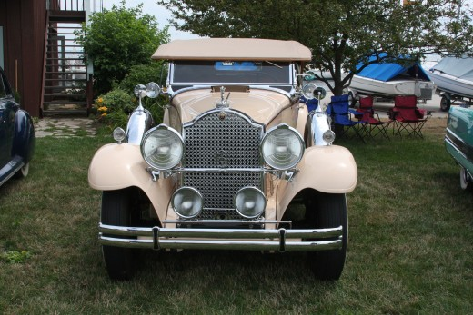 1930 Packard Convertible Sedan
