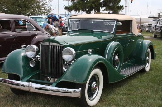 1934 Packard Convertible Coupe