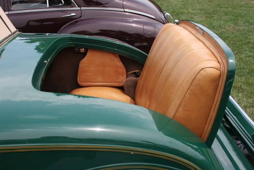 Rumble Seat 1934 Packard Convertible Coupe