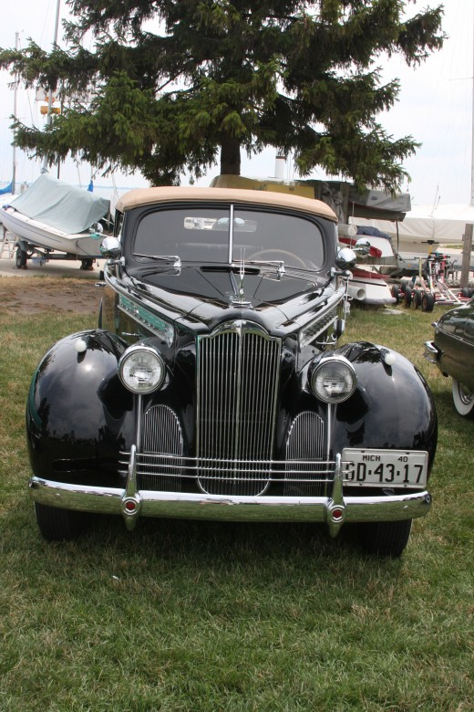 Packard 1940 Convertible Touring Sedan