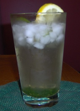 Non-Alcoholic Mint Julep