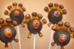 Thanksgiving Cake Pop