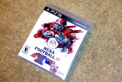 With the washing machine working again, I can continue on with my yearly addiction of NCAA Football for the next few weeks.