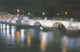 The famous Roman bridge of Tavira