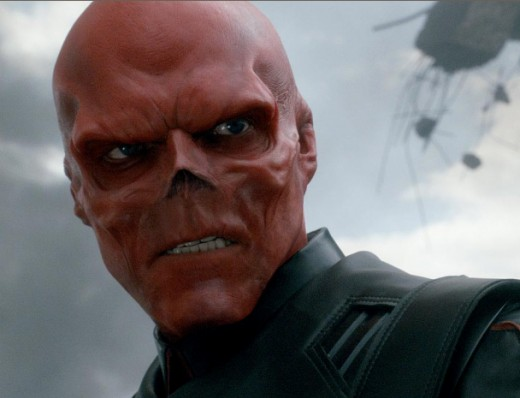 Hey, Red Skull, you got something on your fa-....oops