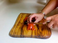 Chopping Tomatoes