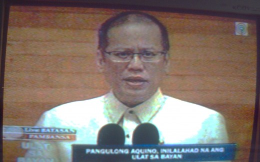 President Benigno Simeon C. Aquino III or P-noy (Photo on TV-2 by Travel Man)