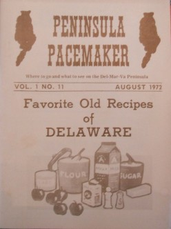 Delmarva's Flavor: Regional Crab and Chicken Recipes from the Peninsula Pacemaker Magazine