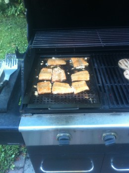 Salmon Fillets on the Grill