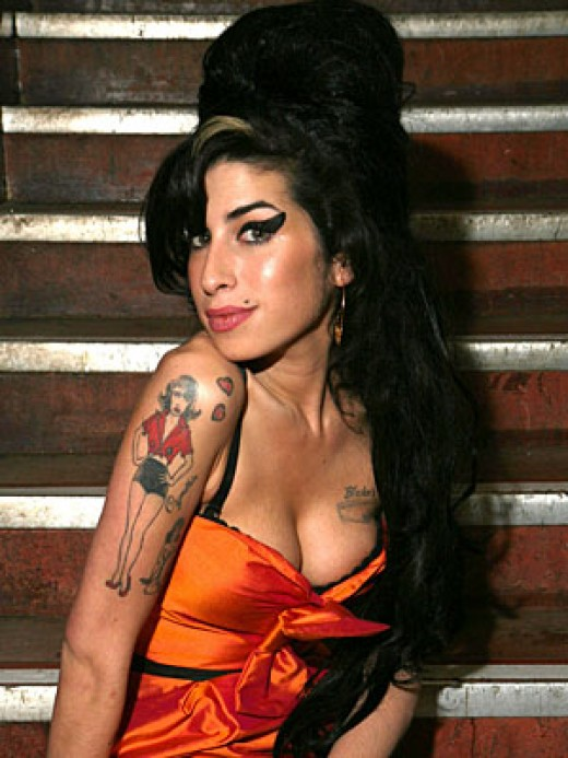 Amy Winehouse April 14, 1983 - July 23, 2011
