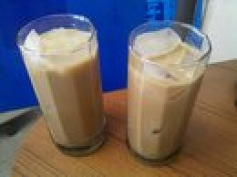 creamy vanilla iced coffee recipe