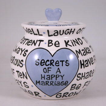Healthy Marriage Jar - Keep your secrets in a jar similar to this!