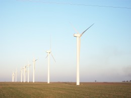 Wind turbines provide a clean source of energy, yet it has been related to mass mortality of bats. The turbines also occupy land and require certain amount of wind to be efficient.