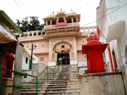 Front gate of Bramha temple, Puskar