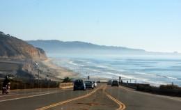 Coast Highway 101, (Camino Del Mar)  Torrey Pines