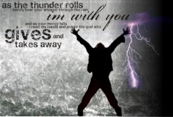 Praising God Through My Storm