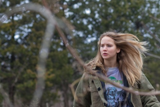 Jennifer Lawrence picture from her oscar nominated Winter Bone