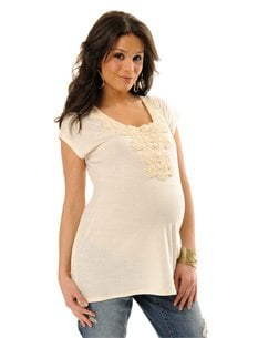 Motherhood Maternity top originally priced for $29.99 and sold on Amazon for $9.99