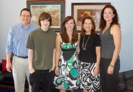 Dr. and Rep. Bachmann and family