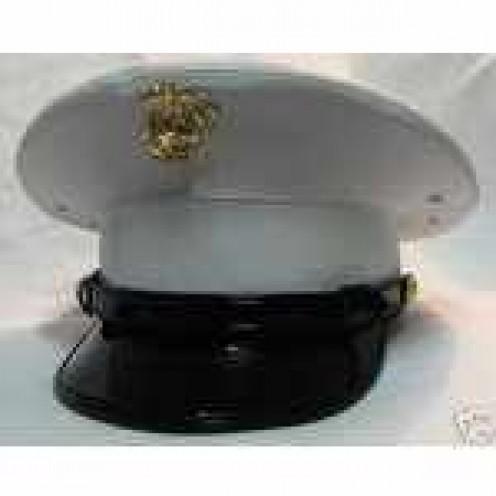 USMC Dress Cover.  Salute!