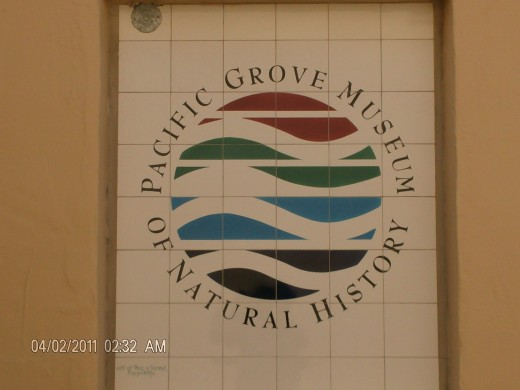 Entrance Pacific Grove Museum Of Natural History