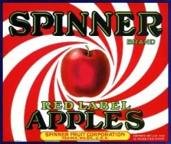 free cross stitch pattern Spinner apples