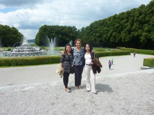 Koenig Ludwig II Schloss Park ( King Ludwig II Palace Park), Herrenchiemsee