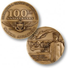 Challenge Coin Featuring The 1ooth Anniversary of Naval Aviation