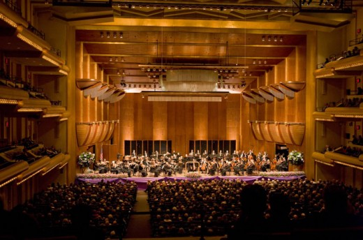 The New York Philharmonic Orchestra at Avery Fisher Hall