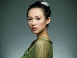 zhang ziyi with makeup and good lighting