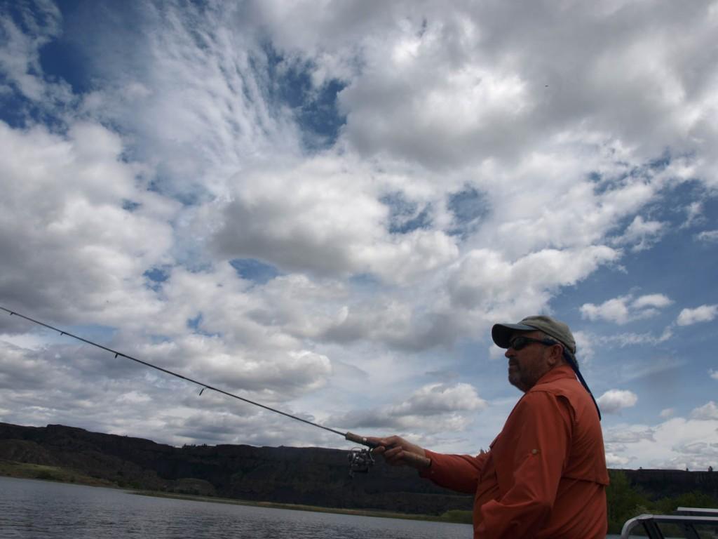 Banks lake washington state a great place for camping for Banks lake fishing