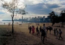 Downtown beach Mumbai