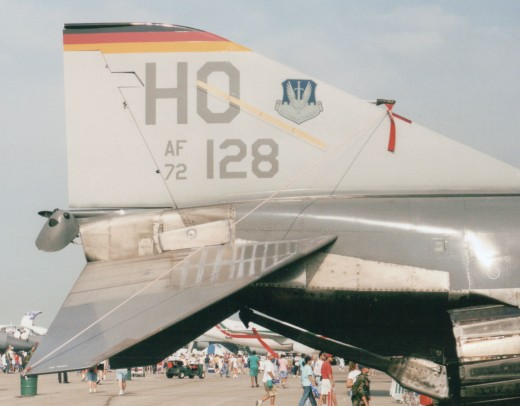 Holloman-based F-4F 72-128 at the Dayton Air Show, August 1998