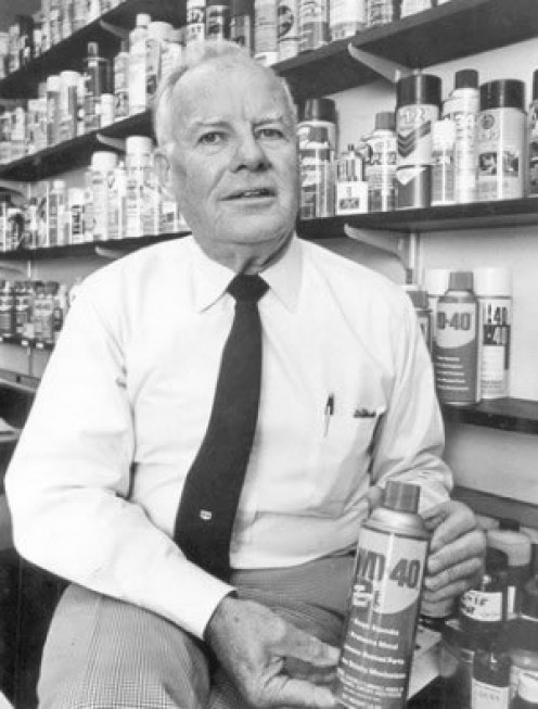 John Steven Barry, President and CEO of the WD-40 Company from 1969-1990, under his guidance the company with only one product would become an international branding legend.