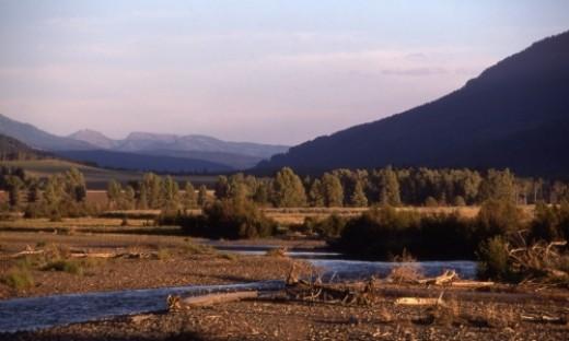 Lamar Valley Yellowstone 2011