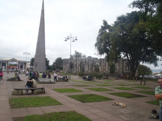 Plaza Central Cartago, Costa Rica