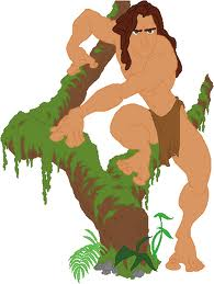 Tarzan Coloring Pages Color Example