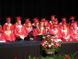 a proud moment - daughter's graduation speech