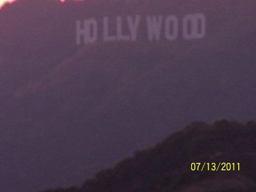 As the sun set, we got to experience the Hollywood sign from up above at Griffith Observatory.