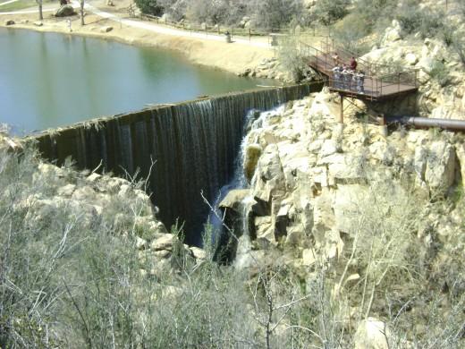 Dam at Fain Park- Prescott Valley