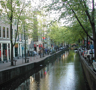 canals and cobblestones, amsterdam