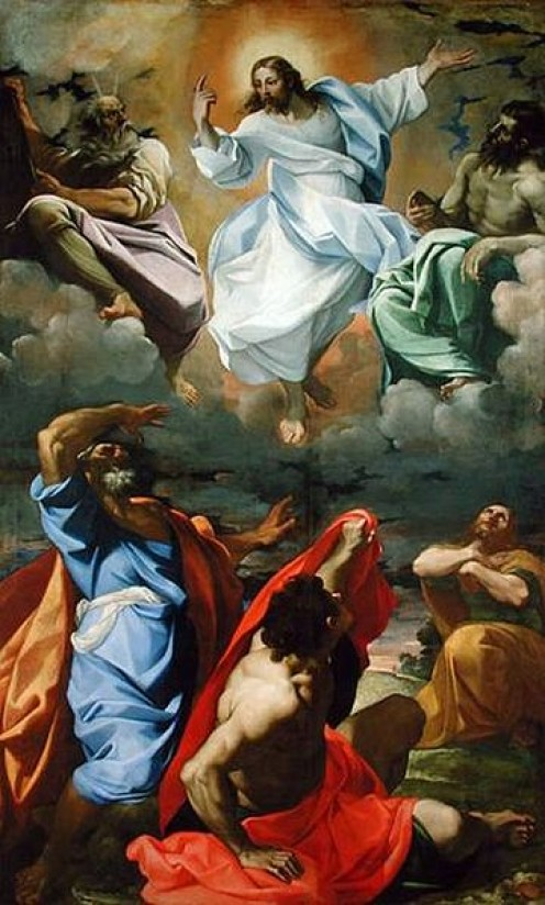 """The Transfiguration"" - by Lodovico Carracci (1594)"