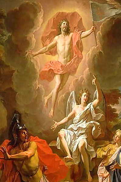"""Resurrection of Christ"" - by Noel Coypel (1700)"