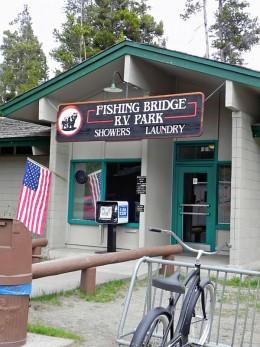Fishing Bridge Check-In