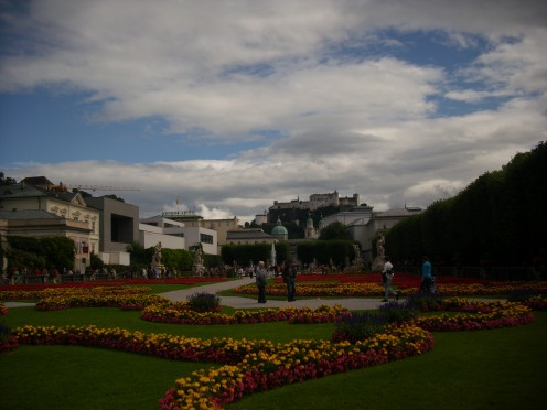 Mirabell Park, Salzburg, Austria